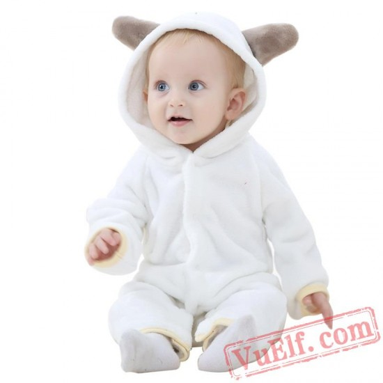 Animal Pink Baby Onesie Pajamas - Baby Kigurumi Onesies