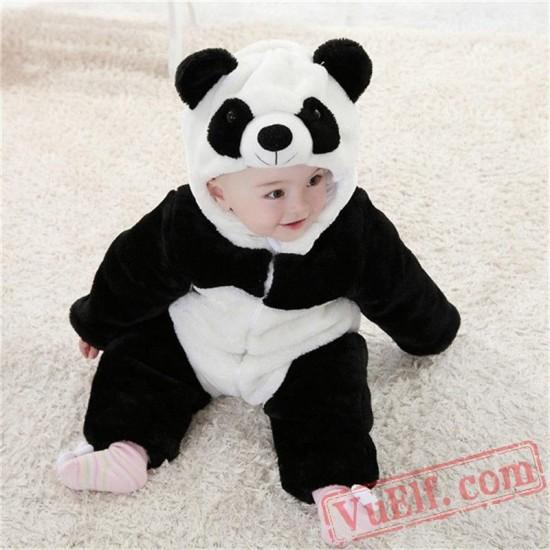 Animal Panda Baby Onesie Pajamas - Baby Kigurumi Onesies