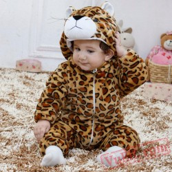 Leopard Animal Baby Onesie Pajamas - Baby Kigurumi Onesies