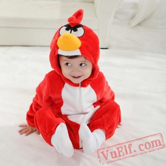 Birds Animal Baby Onesie Pajamas - Baby Kigurumi Onesies