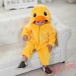 Yellow Duck Baby Onesie Pajamas - Baby Kigurumi Onesies