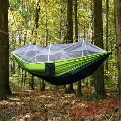 Outdoor Camping Hammock with Mosquito Net,Jungle Hammock