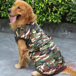 Camouflage Warm Dog Pet Coat / Jacket / Costume