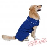 Blue Dog Raincoat / Clothes / Jacket / Coat