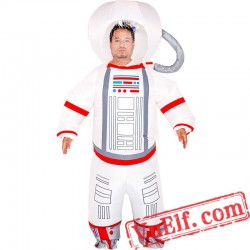 Astronaut Spaceman Inflatable Blow Up Costume