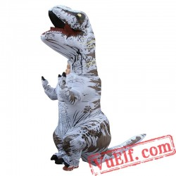 Adult Dinosaur T rex Inflatable Blow Up Costume