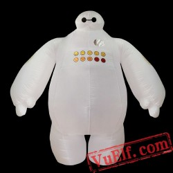 Adult Big Hero 6 Baymax Inflatable Blow Up Costume