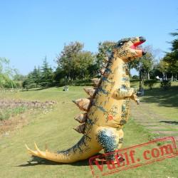 Adult Dinosaur Stegosaurus Inflatable Blow Up Costume