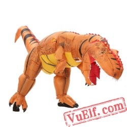 Adult Kids Dinosaur Trex  Inflatable Blow Up Costume