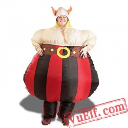 Adult Obelix Inflatable Blow Up Costume