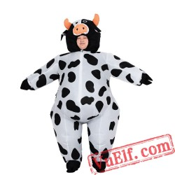 Adult Cow Inflatable Blow Up Costume