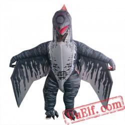 Adult Dinosaur Pterosaur Inflatable Blow Up Costume