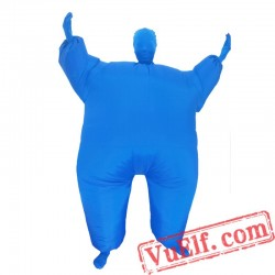 Adult Invisibility Cloak Inflatable Blow Up Costume