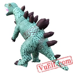 Adult Funny Stegosaurus Dinosaur Inflatable Blow Up Costume