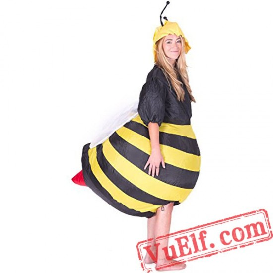 Adult Bumble Bee Inflatable Blow Up Costume