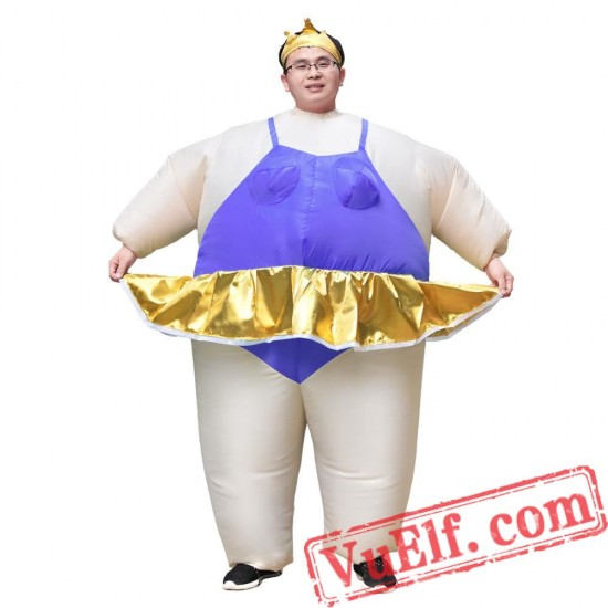 Adult Ballerina Inflatable Blow Up Costume