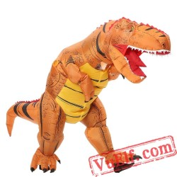 Adult T Rex Dinosaur Inflatable Blow Up Costume