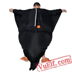 Adult Penguin Inflatable Blow Up Costume