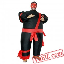 Adult Warrior Inflatable Blow Up Costume