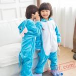 Kids Elephant Kigurumi Onesies Animal Costumes