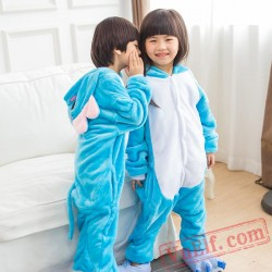 Kids Elephant Kigurumi Onesies Animal Costumes