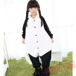 Panda Kids Animal Costume Kigurumi Onesie Pajamas