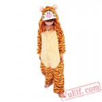 Kids Tiger Kigurumi Onesie Pajamas Kids Kigurumi Costumes
