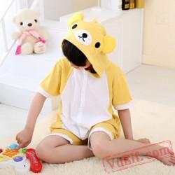 Animal Rilakkuma Onesie Pajamas - Summer Kids Kigurumi Onesies