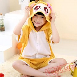 Animal Monkey Onesie Pajamas - Summer Kids Kigurumi Onesies