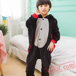 Bat Kids Kigurumi Onesies Kid Winter Animal Costumes