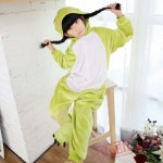 Frog Kigurumi Onesie Pajamas Kids Animal Costumes