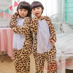 Bears Kigurumi Onesie Pajamas Kids Animal Costumes
