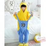 Minions Kigurumi Onesie Pajamas Kids Onesie Costumes