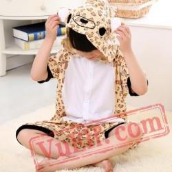 Bear Onesie Pajamas - Summer Kids Kigurumi Onesies