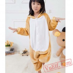 Bears Kids Kigurumi Onesie Pajamas Animal Costumes