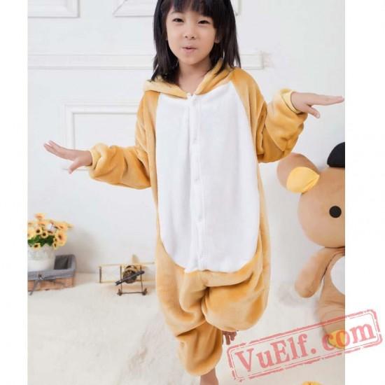 Bears Kids Kigurumi Onesie Pajamas Animal Costumes