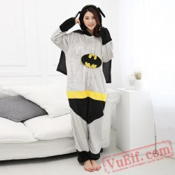 Batman Onesie Costume & Pajamas - Halloween Costumes