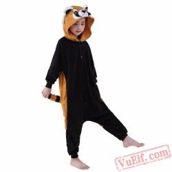 Cartoon Racoon Onesie Costumes / Pajamas for Kids - Kigurumi Onesies