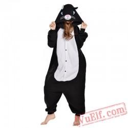 Black Cat Onesie Costumes / Pajamas for Adult - Kigurumi Onesies
