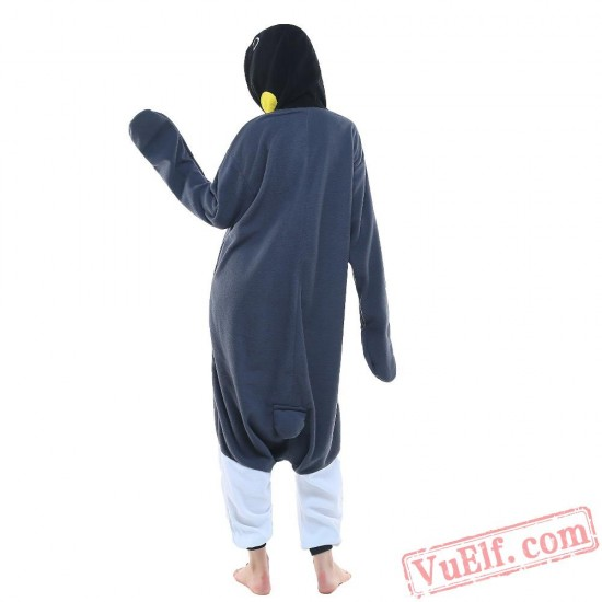Grey Penguin Onesie Costumes / Pajamas for Adult - Kigurumi Onesies