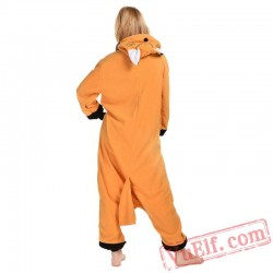 Brown Fox Onesie Costumes / Pajamas for Adult - Kigurumi Onesies