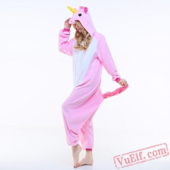 Pink Pegasus Onesie Costumes / Pajamas for Adult - Kigurumi Onesies