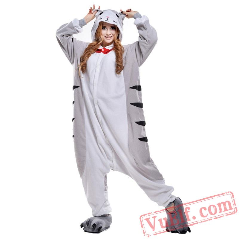 Cheese Cat Onesie Costumes   Pajamas for Adult - Kigurumi Onesies a580138f01b8c