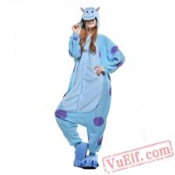 Cartoon Sullivan Onesie Costumes / Pajamas for Adult - Kigurumi Onesies