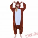 Brown Donkey Onesie Costumes / Pajamas for Adult - Kigurumi Onesies