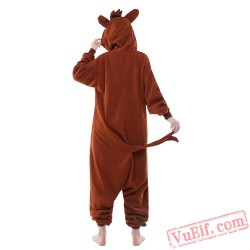 Brown Donkey Onesie Costumes / Pajamas for Adult - Kigurumi Onesies