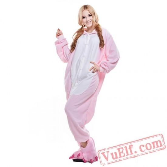 Pink Mouse Onesie Costumes / Pajamas for Adult - Kigurumi Onesies