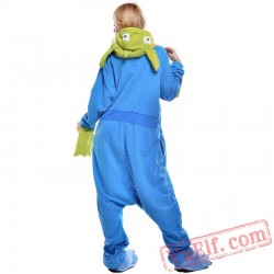 Aliens Three Eyes Onesie Costumes / Pajamas for Adult - Kigurumi Onesies