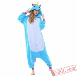 Blue Pegas Onesie Costumes / Pajamas for Adult - Kigurumi Onesies