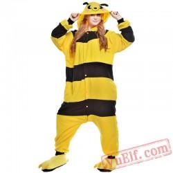 Cartoon Bee Onesie Costumes / Pajamas for Adult - Kigurumi Onesies